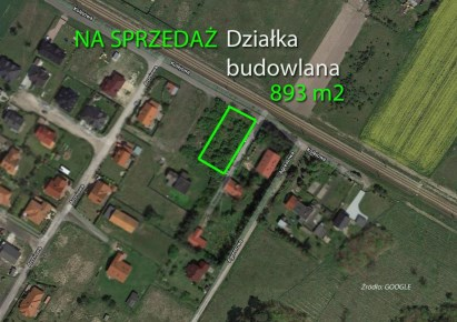 działka na sprzedaż - Kórnik (gw), Robakowo, Kolejowa